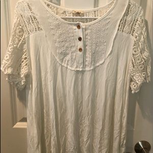 New Women's. POL Boho Crochet Top/Blouse